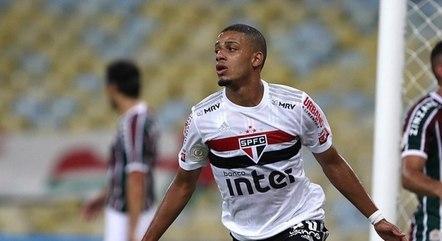 Brenner tem feito muitos gols pelo São Paulo