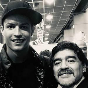 CR7 homenageou Maradona