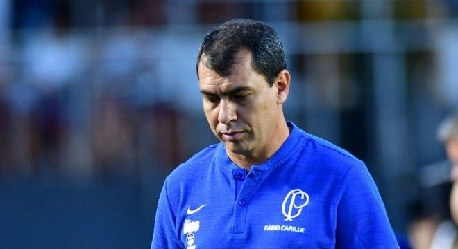 Carille não vence há sete jogos pelo Corinthians