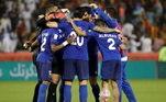 Al-Hilal- Após surto de Covid-19, o time saudita foi expulso da Champions Asiática. Foram 15 atletas afastados