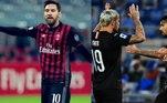Milan - Donnarumma, Calabria, Romagnoli, Bonnaventura, Theo Hernandez, Kessié, Bennacer, Çalhanoglu, Rebic, Messi, Ibrahimovic. Técnico: S.Pioli