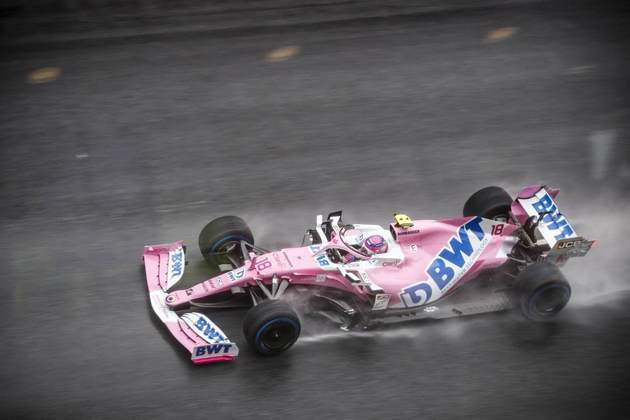 Lance Stroll anotou 1min19s645 no Red Bull Ring