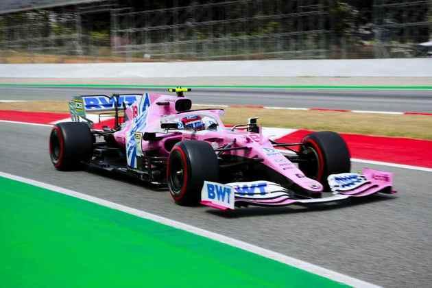 Lance Stroll ficou com a quinta posição no grid em Barcelona