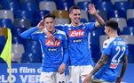O produtor cinematográfico Aurelio de Laurentis comprou o espólio e rebatizou a instituição para Napoli Soccer, que iniciou sua caminhada na Série C1. Posteriormente, o nome Societá Sportivo Napoli também foi recuperado