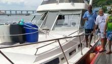 Marinha faz buscas por lancha com 5 amigos que desapareceu no mar