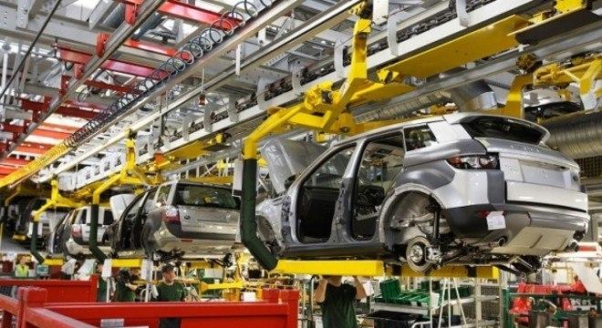 Unidade da Jaguar Land-Rover em Itatiaia/RJ que também aderiu à paralisação