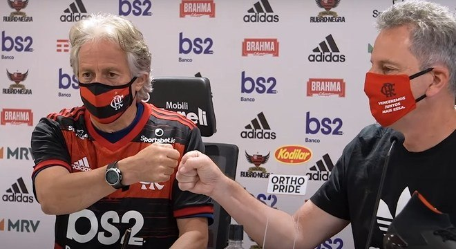 Landim avisa. O Flamengo estará preparado até para eventual liminar da Globo