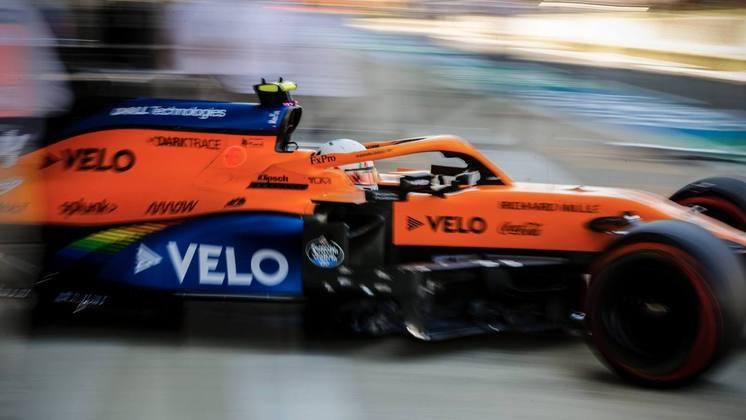 Lando Norris ficou com a quinta posição no grid em Silverstone