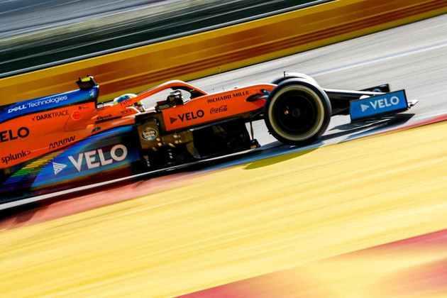 Lando Norris foi o 15º colocado no GP da Rússia