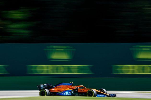 Lando Norris larga em sexto para o GP da Itália de 2020