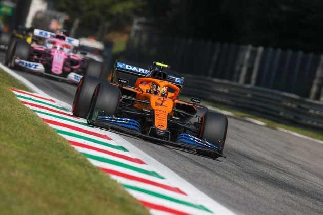 Lando Norris terminou o GP da Itália na quarta colocação