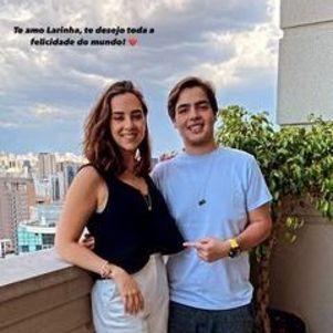 Lara Silva e João Guilherme