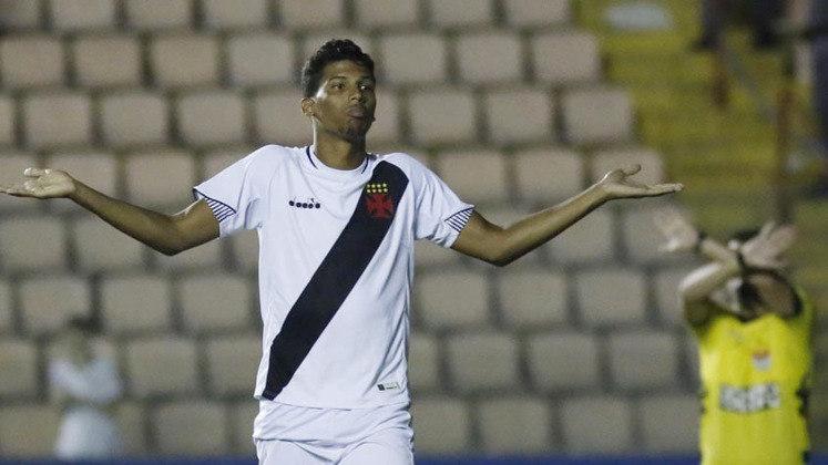 Laranjeira (atacante) - 10 partidas pelo Vasco.
