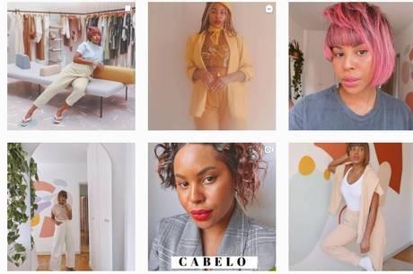 Larissa Cunegundes, influenciadora de moda e beleza