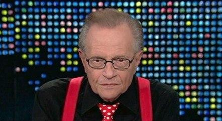 Larry King ficou doente há cerca de dez dias