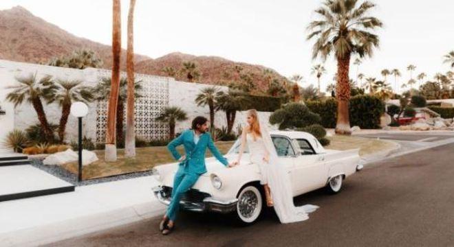 Noivos agora podem se casar dentro do carro durante a pandemia