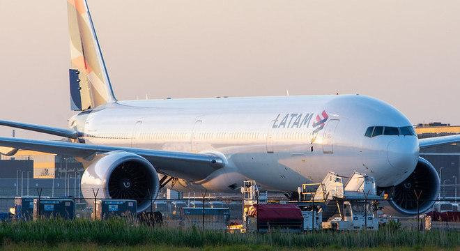 Latam mudou modelo de aviões para transportar mais carga