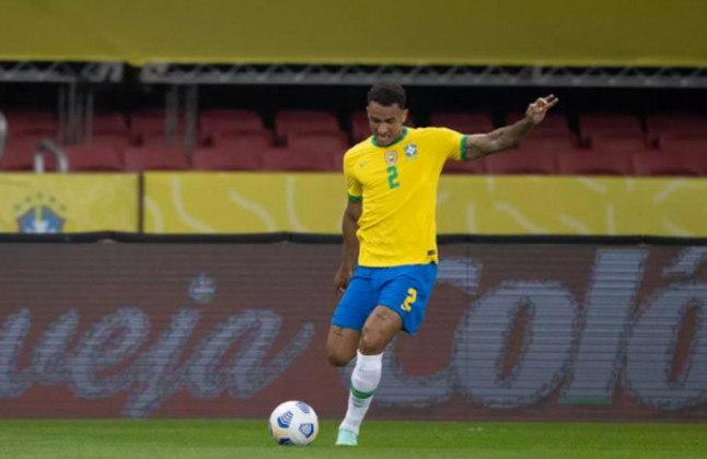 Laterais-direitos: Danilo (Brasil) – 20 milhões de euros x Nahuel Molina (Argentina) – 7 milhões de euros