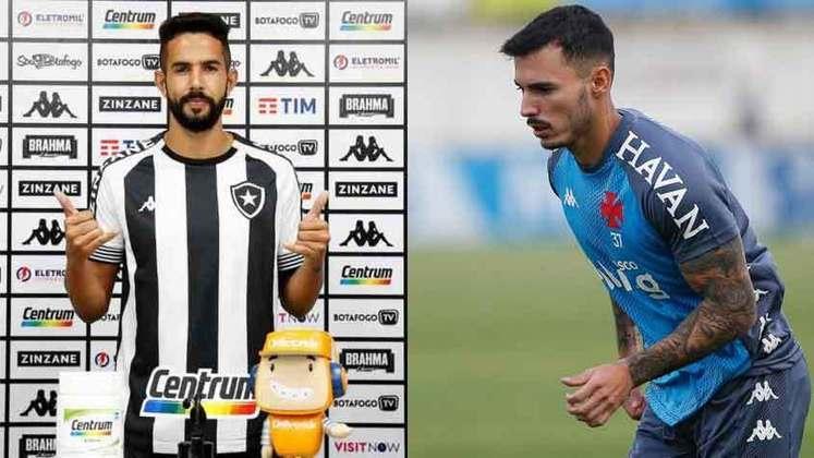 LATERAIS: O Vasco contratou Zeca, e o Botafogo contratou Rafael Carioca e Jonathan.