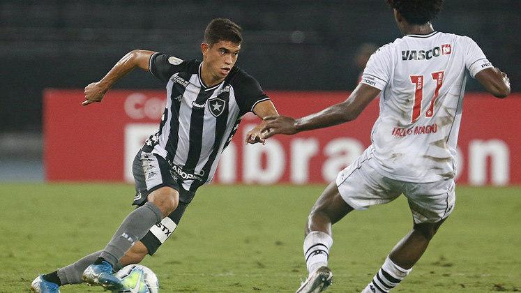 LATERAL-DIREITO: Kevin - Assinou com a Ponte Preta e deixou o Botafogo