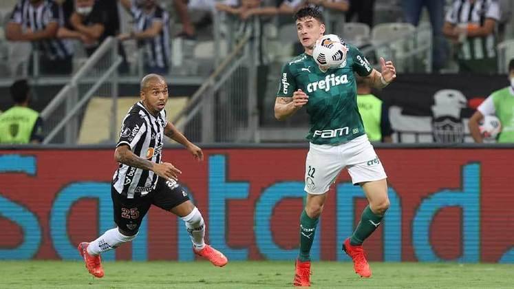 Lateral-esquerdo: Joaquín Piquerez (Palmeiras) - 2,5 milhões de euros (R$ 15,7 milhões) / Filipe Luís (Flamengo) - 1,5 milhão de euros (R$ 9,4 milhões).