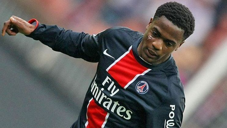 Lateral-esquerdo: Tripy Makonda (francês) - 21 anos na época - camisa 24 - atualmente sem clube