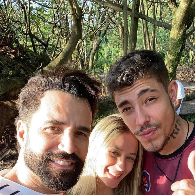 Bruna Moraes e Guilherme são irmãos de mães diferentes