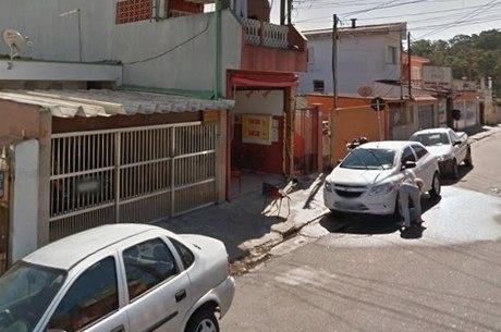 Local onde aconteceu latrocínio, em São Bernardo do Campo