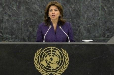 Laura Chinchilla presidiu Costa Rica entre 2010 e 2014
