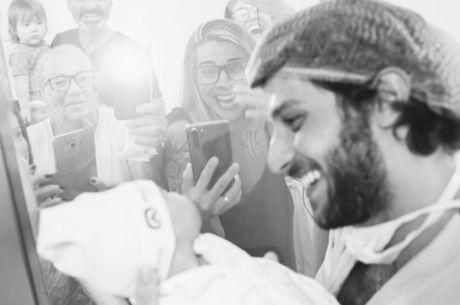 Familiares vibraram com nascimento de Maria