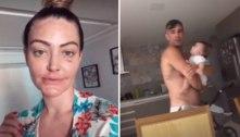Laura Keller explica olho roxo após separação de Jorge Sousa