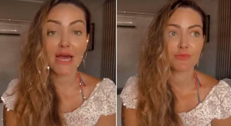 A atriz não deixou de agradecer as mensagens de apoio de fãs e amigos