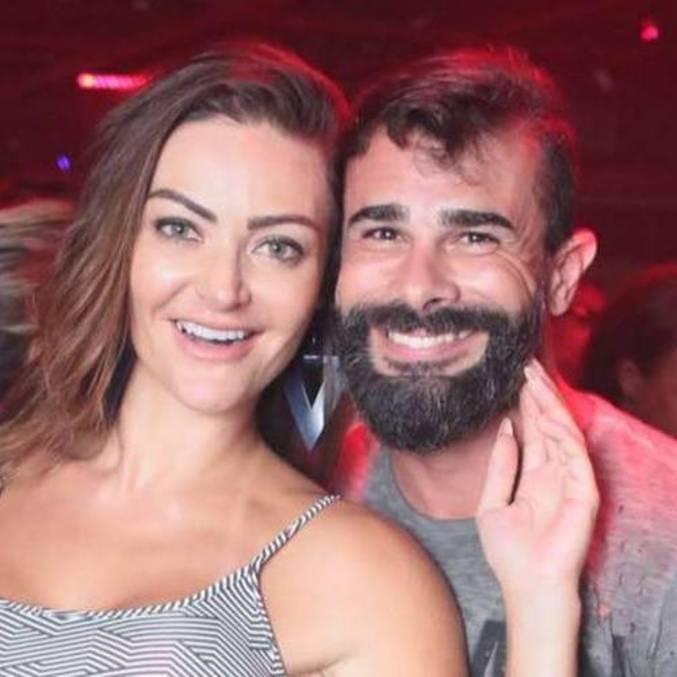 Laura Keller e Jorge Souza ficaram juntos por seis anos