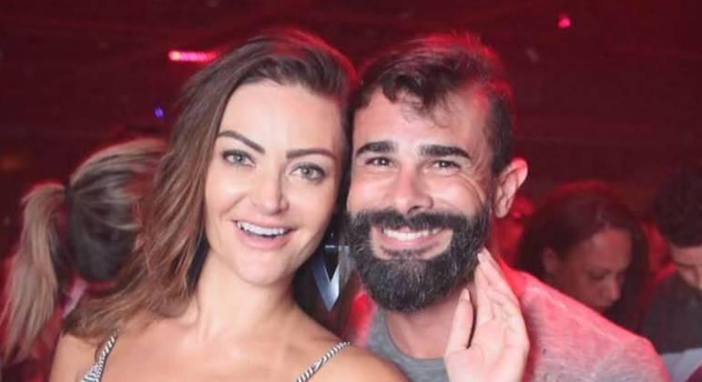 Laura Keller e Jorge Souza tiveram uma união estável durante 6 anos