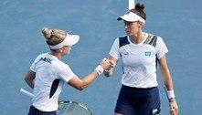 Do frescobol ao bronze: brasileiras surpreendem e encantam no tênis