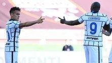 Dupla brilha, Inter vence e dispara no liderança do Italiano