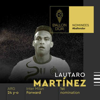 Lautaro Martínez (argentino) - atacante - Inter de Milão