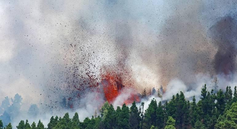 Última erupção do vulcão Cumbre Vieja foi há 50 anos