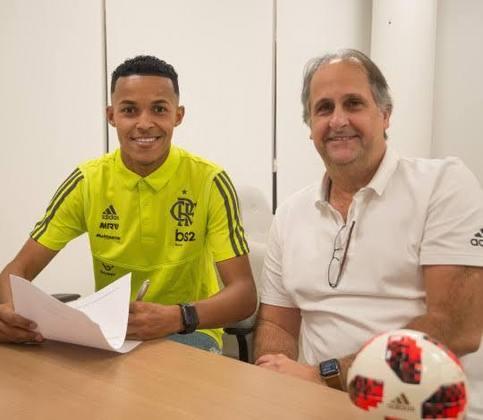 Lázaro (18) - Flamengo - Valor atual: 1,8 milhões de euros - + % - Diferença: 1,8 milhões de euros