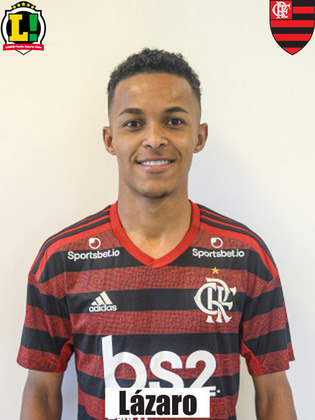Lázaro - 6,0 - Entrou no lugar de Thiaguinho no segundo tempo. Deu mais velocidade ao meio-campo do Flamengo, mas pouco apareceu.