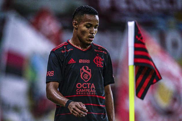 Lázaro - Posição: meia-atacante - Clube: Flamengo - Idade: 19 anos - Situação: é o grande nome da base flamenguista, onde coleciona ótimos números ofensivos.