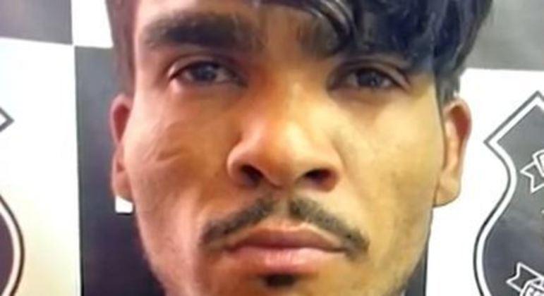 """Lázaro Barbosa, de 33 anos, conhecido como """"serial killer do DF"""""""