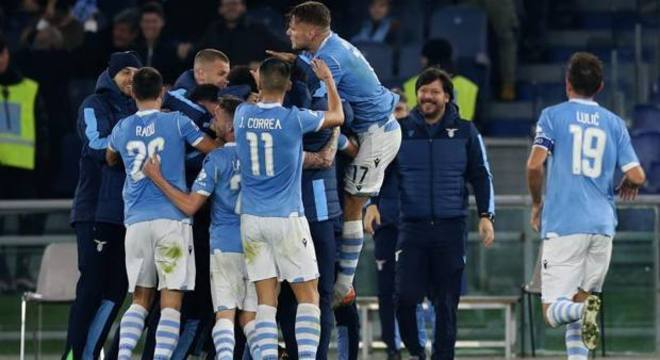 Justa celebração, Lazio 3 X 1 Juventus