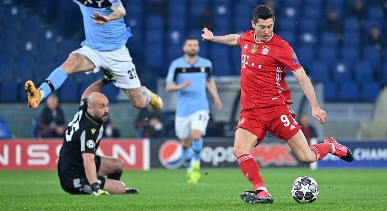 """Champions"", Lazio 1 X 4 Bayern"