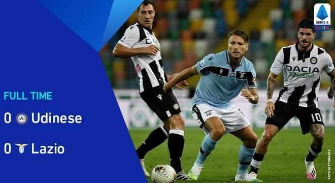 A Lazio, incapaz de diminuir a diferença da líder