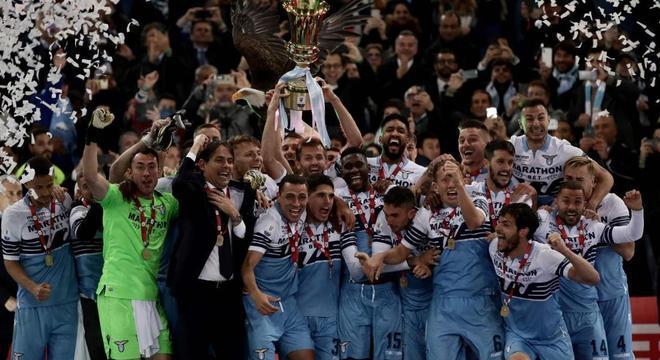 A Lazio, a detentora do trof[eu