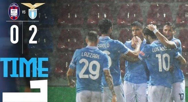Lazio, 2 X 0 no dilúvio de Crotone