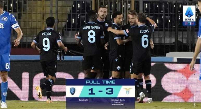 No duelo dos azuis, deu a Lazio