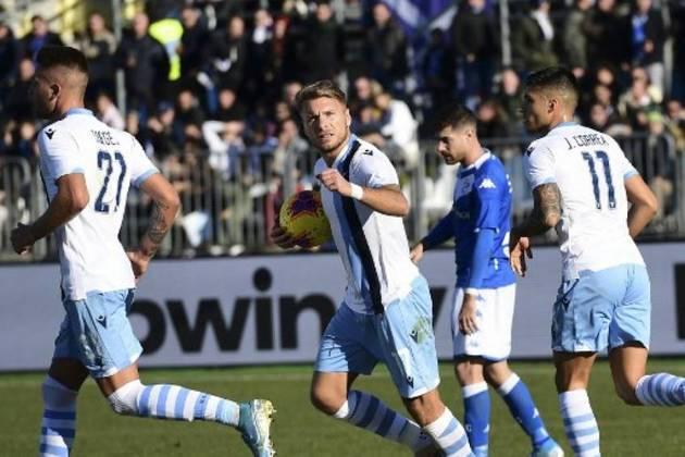 LAZIO, do atacante Immobile, também está na Liga dos Campeões 2020-21, fechando o campeonato italiano entre os quatro primeiros colocados. São quatro vagas para o país.