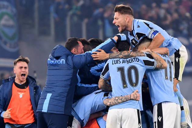 Lazio - Strakosha; Luiz Felipe, Acerbi e Radu; Lucas Leiva, Luis Alberto, Milinkovic-Savic, Lulic e Lazzari; Correa e Immobile.  Técnico: S. Inzaghi.